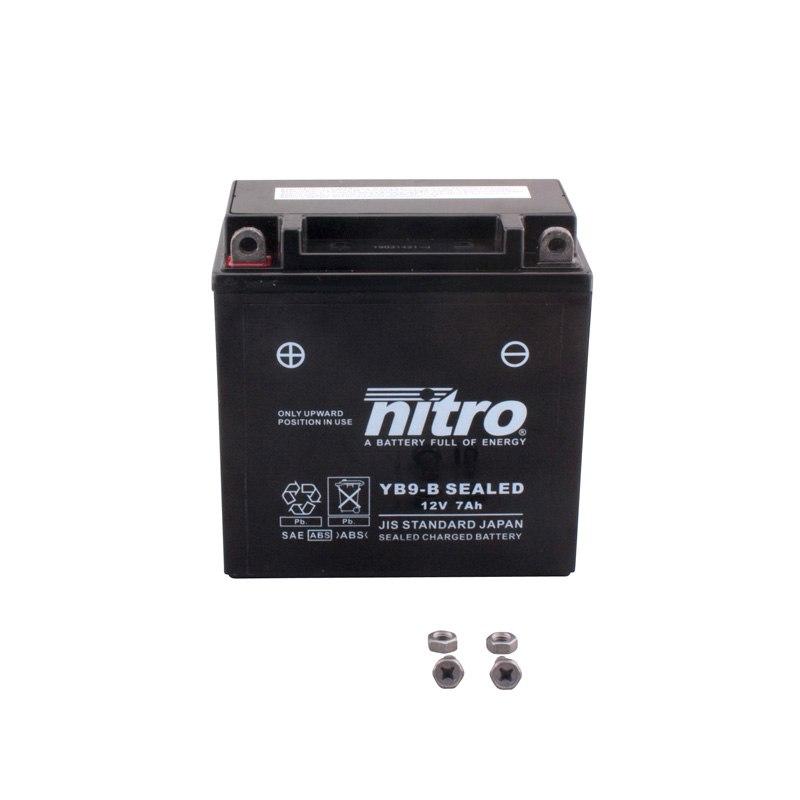 batterie nitro yb9 b ferme type acide sans entretien. Black Bedroom Furniture Sets. Home Design Ideas