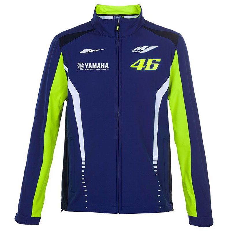 veste vr 46 soft shell racing yamaha collection sportswear et accessoires. Black Bedroom Furniture Sets. Home Design Ideas