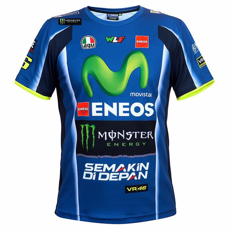 T-shirt Manches Courtes Vr 46 Replica - Yamaha Collection