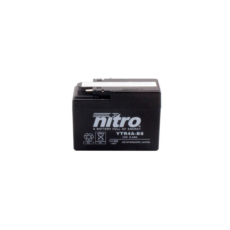batterie nitro ytr4a bs agm ouvert avec pack acide type acide batteries. Black Bedroom Furniture Sets. Home Design Ideas