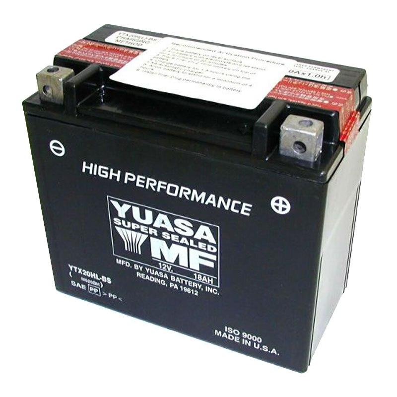 batterie yuasa ytx20hl bs agm ouvert avec pack acide h type acide batteries. Black Bedroom Furniture Sets. Home Design Ideas