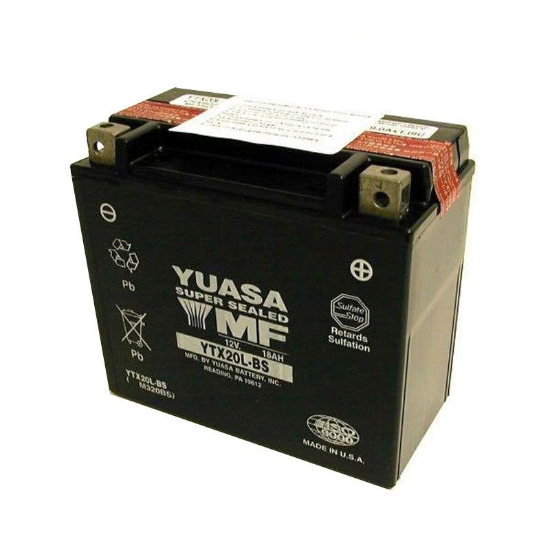 batterie yuasa ytx20l bs agm ouvert avec pack acide type acide batteries. Black Bedroom Furniture Sets. Home Design Ideas