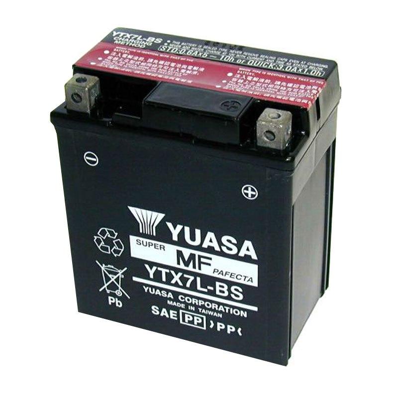batterie yuasa ytx7l bs agm ouvert avec pack acide type acide batteries. Black Bedroom Furniture Sets. Home Design Ideas