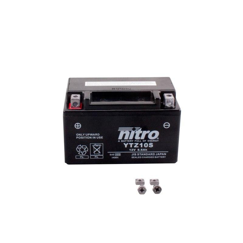 Batterie Nitro Ytz10s Fermée Type Acide Sans Entretien