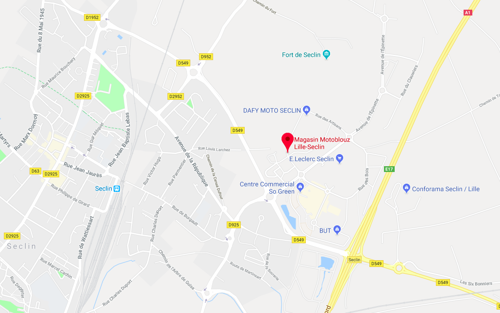Magasin Motoblouz Lille-Seclin