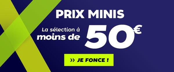 SELECTION XTREM à moins de 50€