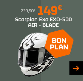 Casque Scorpion Exo 500 Blade
